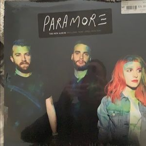 Paramore vinyl record brand new